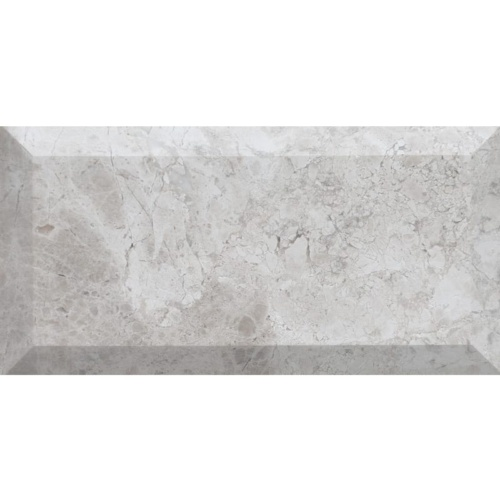 Silver Clouds Honed Subway Marble Tiles 2 3/4×5 1/2