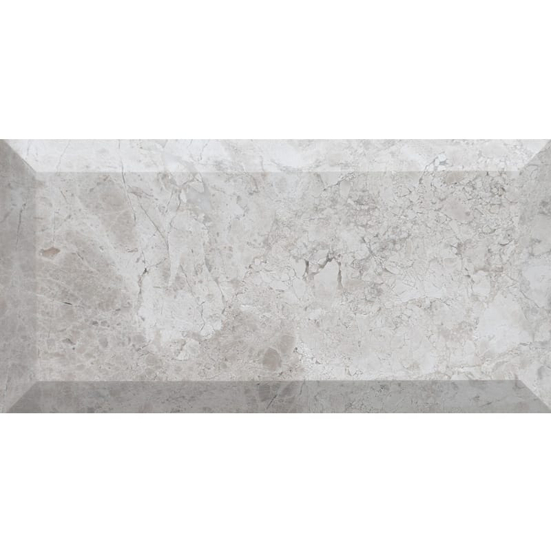 Silver Clouds Honed Subway Marble Tiles 2 34x5 12 Country Floors
