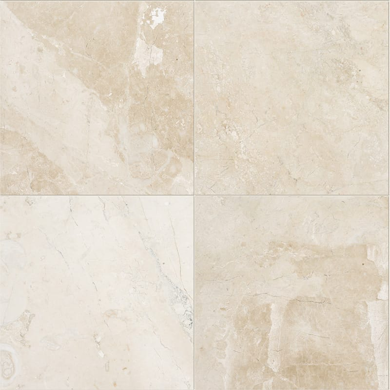 Diana Royal Classic Polished Marble Tiles 18x18 Country