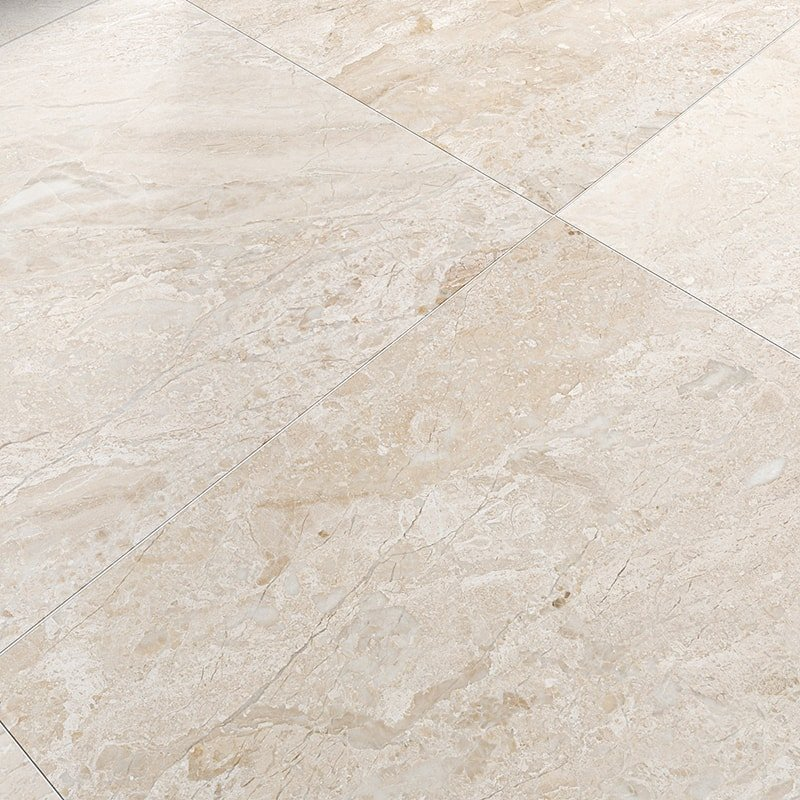 Diana Royal Honed Marble Tiles 36x36 Country Floors Of