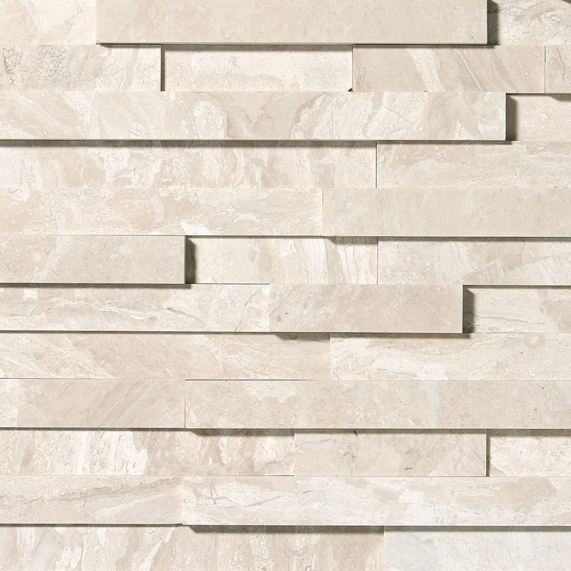 Diana Royal Honed Marble Wall Deco Elevations Pattern