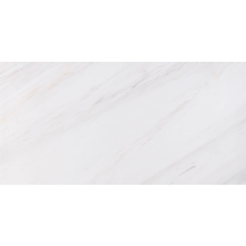 Snow White Polished Marble Tiles 2 3/4x5 1/2