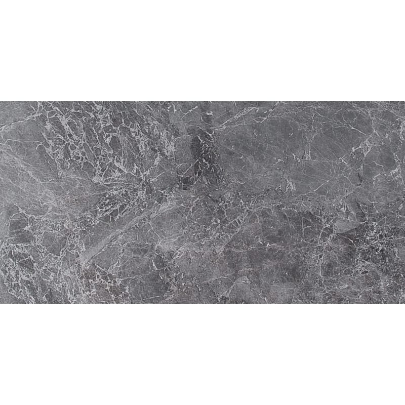 Baltic Gray Polished Marble Tiles 12x24