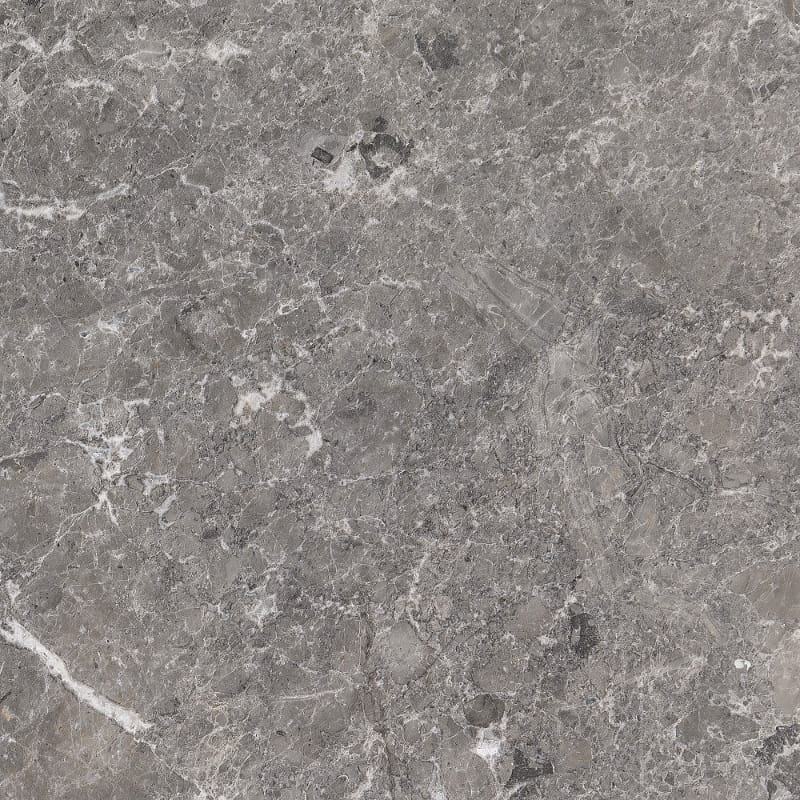 Baltic Gray Polished Marble Tiles 18x18