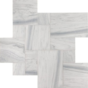 Skyline Vein Cut Pave Antico Marble Patterns Versailles Pattern