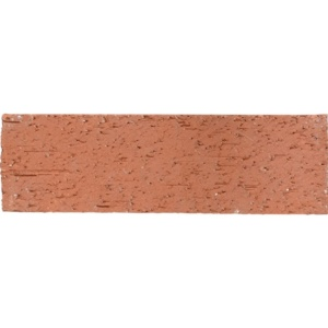Red Textured Terracotta Tiles 2 9/16x8 7/16