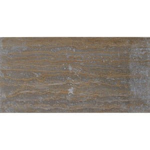 Walnut Dark Vein Cut Honed&filled Travertine Tiles 12x24