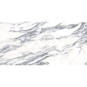 Calacatta Arabescato Polished Marble Tiles 2 3/4x5 1/2