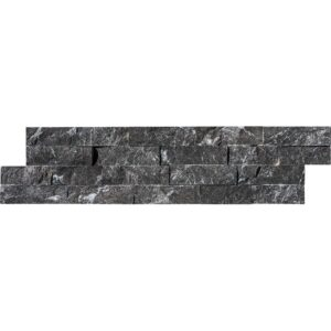 Black Ledger Marble Panels 6x24