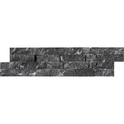 Country Floors Of America Llc: Black Ledger Marble Panels 6x24