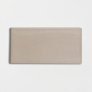 Latte Glossy Ceramic Tiles 3x6