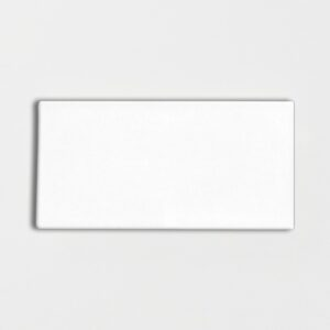 Royal White Glossy Ceramic Tiles 3x6
