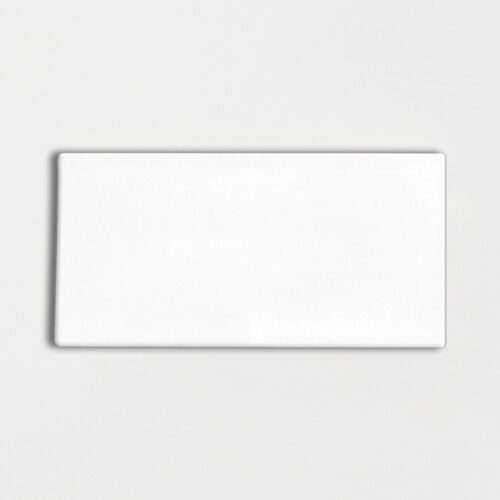 Royal White Glossy Ceramic Tiles 3×6