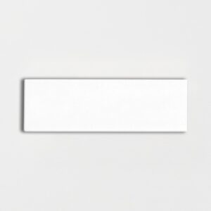 Royal White Glossy Ceramic Tiles 3x9