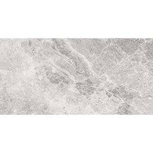 Fusion Gray Polished Marble Tiles 24x48