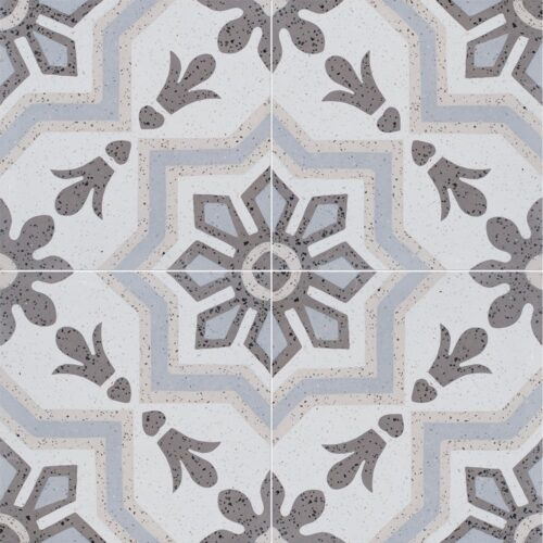 Brown, Light Polished Bel Canto Cement Tiles 8×8