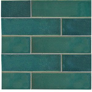 Ocean Colony Gloss Ceramic Tiles 2 1/8x7 1/2