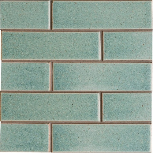 Weathered Jean Leather Ceramic Tiles 2 1/8×7 1/2