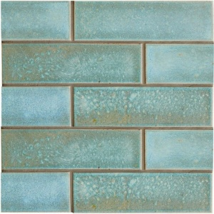 Costa Mia Leather Ceramic Tiles 2 1/8x7 1/2