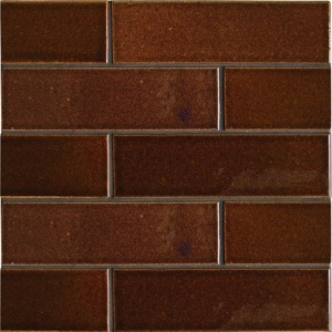 Canela Twist Gloss Ceramic Tiles 2 1/8x7 1/2