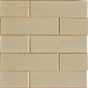 Creame Brulee Semi Gloss Ceramic Tiles 2 1/8x7 1/2