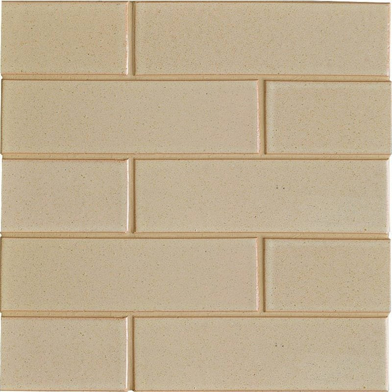 Cream Burle Semi Gloss Ceramic Tiles 2 18x7 12 Country Floors Of