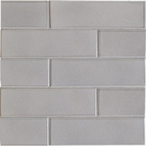 Nantucket Gray Gloss Ceramic Tiles 2 1/8x7 1/2