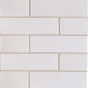 Doric Gray Gloss Ceramic Tiles 2 1/8x7 1/2