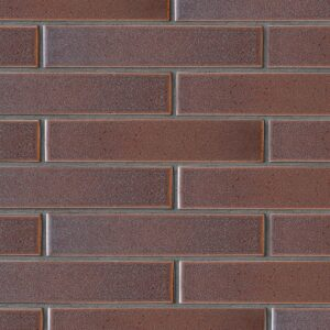 Negro Rosa Leather Ceramic Tiles 2 1/4x11 5/8