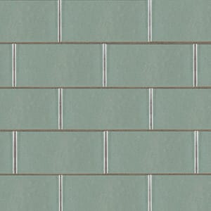 Perfect Road Gloss Ceramic Tiles 3 5/8x7 5/8