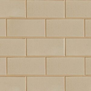Creame Brulee Semi Gloss Ceramic Tiles 3 5/8x7 5/8