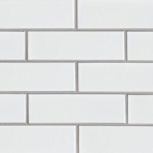 Eggshell Gloss Ceramic Tiles 3 5/8x11 5/8