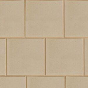 Creame Brulee Semi Gloss Ceramic Tiles 7 5/8x7 5/8