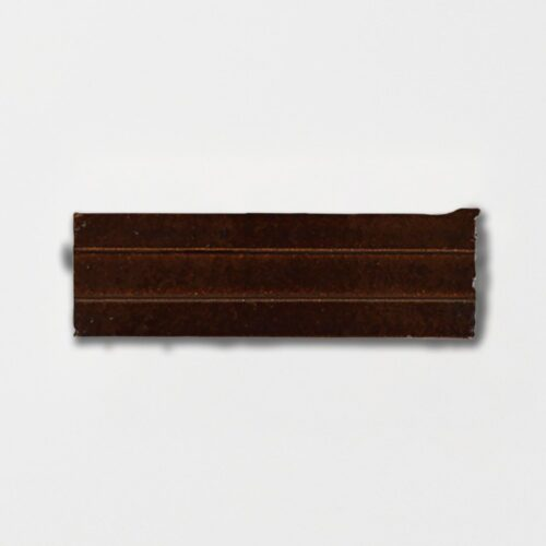 Losada Brown Strided Ceramic Wall Decos 2 1/4×7 3/8