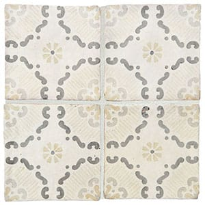 Milazzo Glazed Ceramic Decorative 6x6