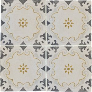 Modica Classic Glazed Terracotta Decorative 8x8