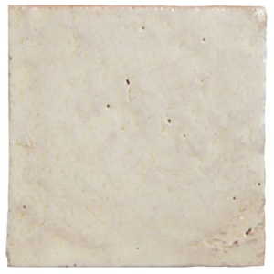 Cream Glazed Terracotta Tiles 6x6