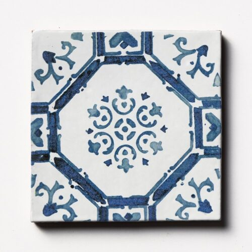Sintra 3 Square 1/2 Glazed Terracotta Tiles 6×6