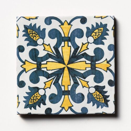 Sintra 4 Square 1/2 Glazed Terracotta Tiles 6×6
