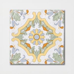 Sintra 5 Square 1/2 Glazed Terracotta Tiles 6x6