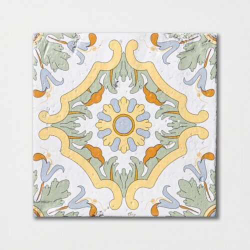 Sintra 5 Square 1/2 Glazed Terracotta Tiles 6×6