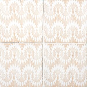 Vintage Linen Glossy Flama Terracotta Tiles 6x6