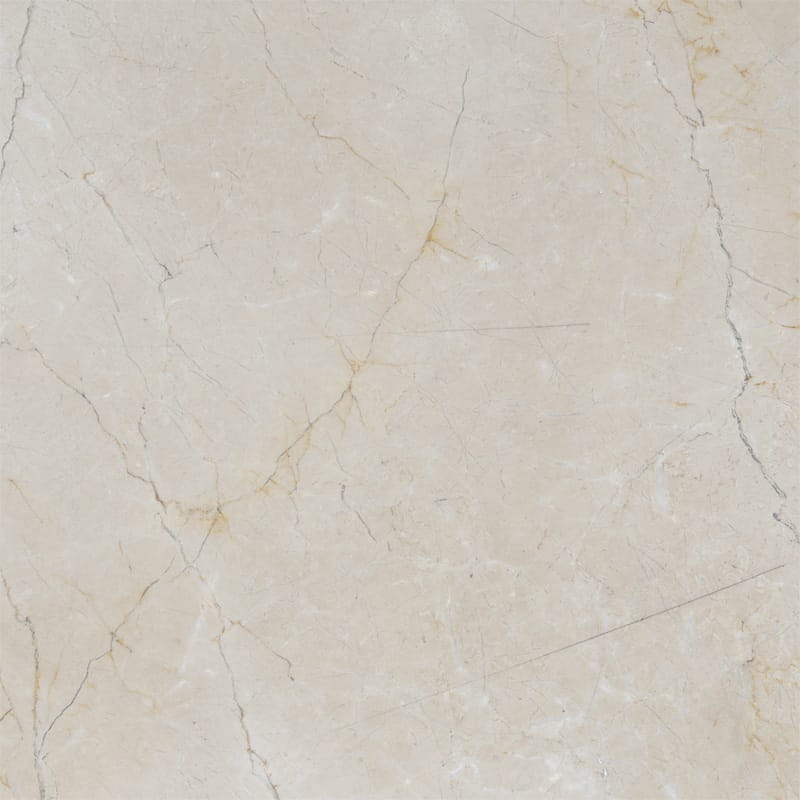 Crema Marfil Classic Polished Marble Tiles 18x18