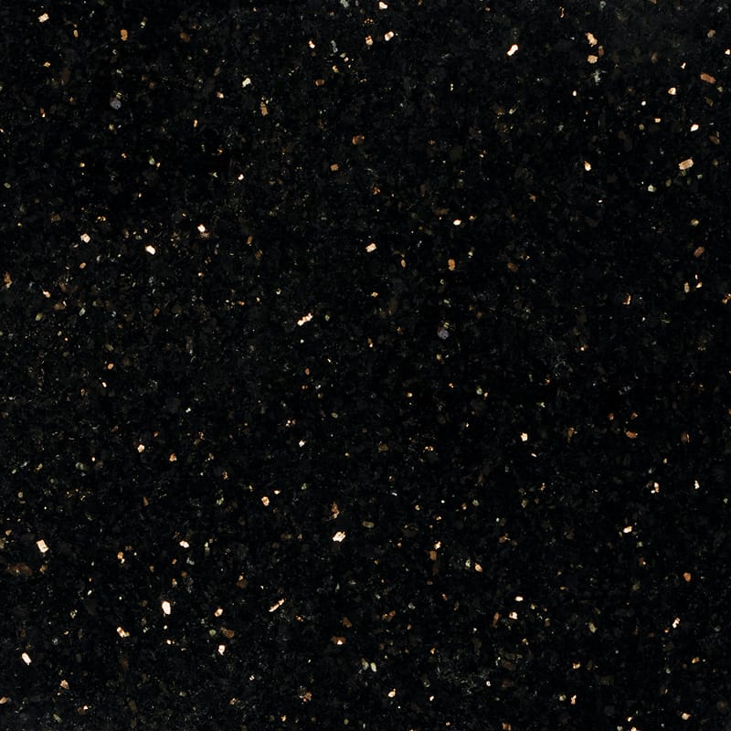 Black Galaxy Polished Granite Tiles 18x18