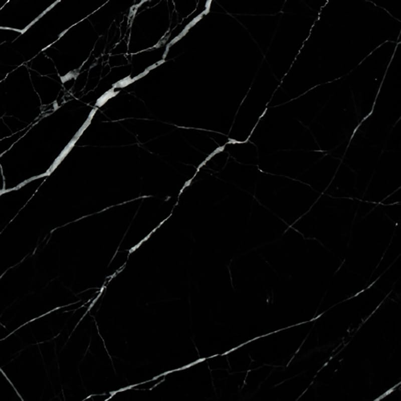 Black Polished Marble Tiles 12x12 Country Floors Of