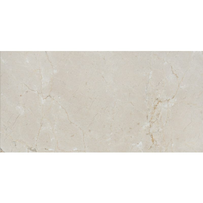 Crema Marfil Polished Marble Tiles 2 3/4x5 1/2