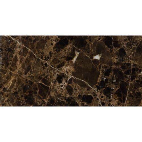 Emperador Dark Polished Marble Tiles 2 3/4×5 1/2