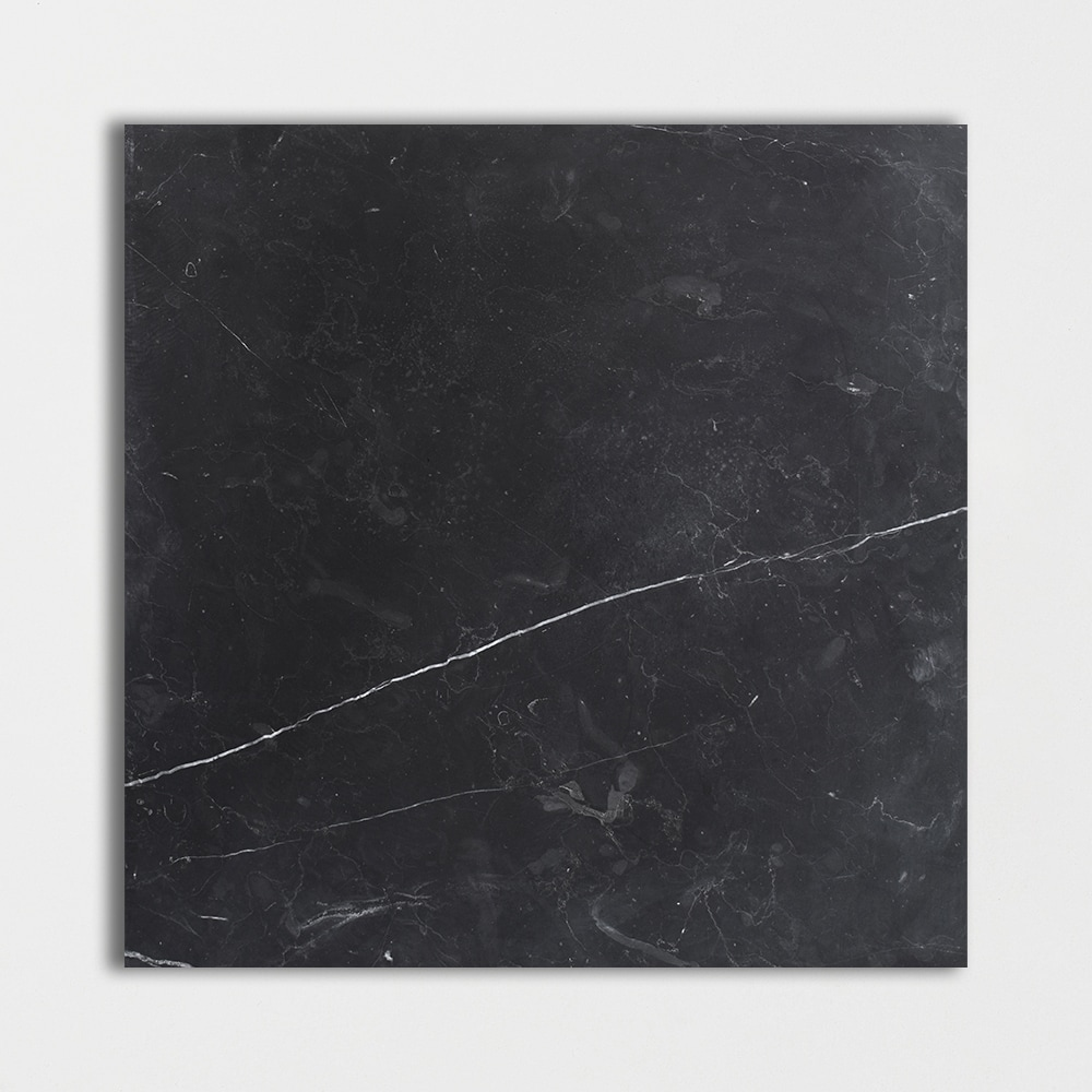 Black Honed Marble Tiles 18x18 Country Floors Of America