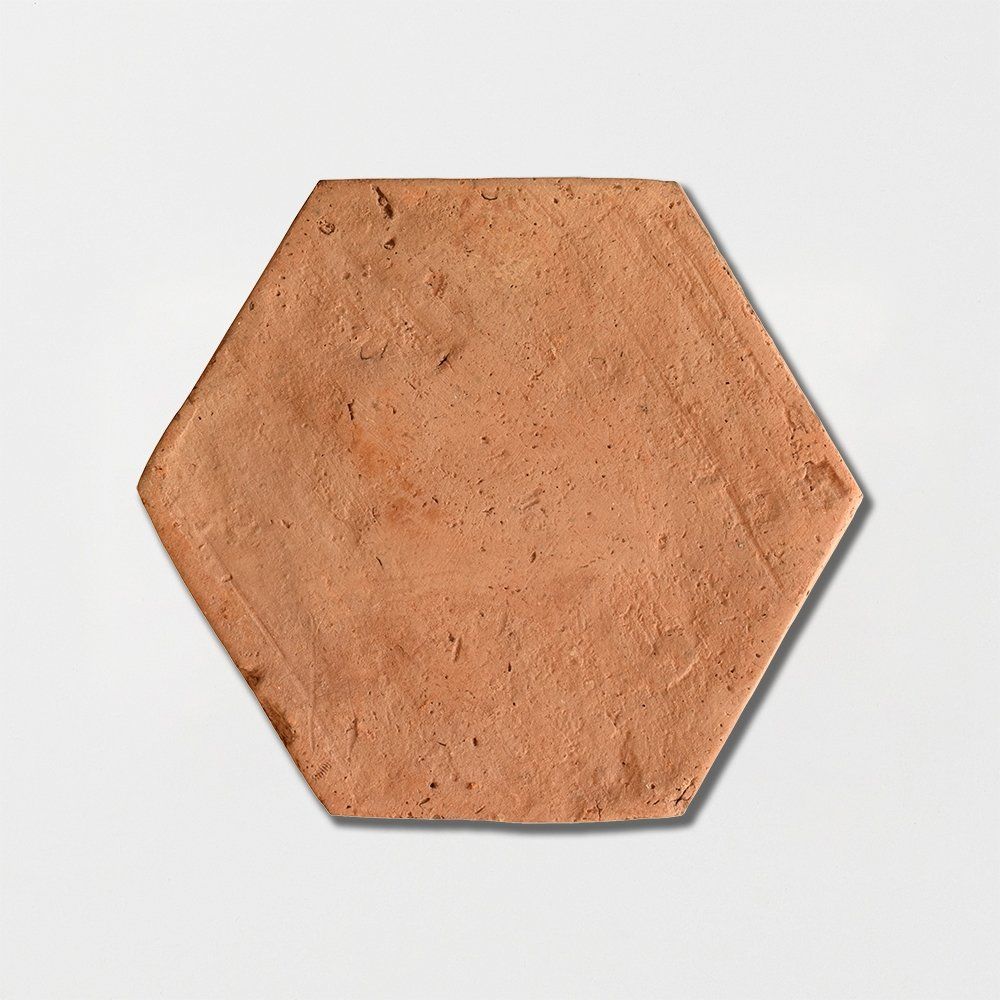 Hexagon Natural Terracotta Tiles 6x6 Country Floors Of