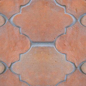 Riviera Natural Terracotta Patterns Random